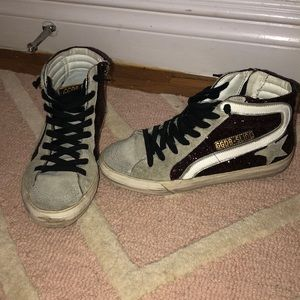 Authentic golden goose high tops
